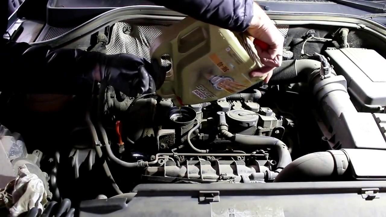 Замена масла фольксваген тигуан своими руками фото 273