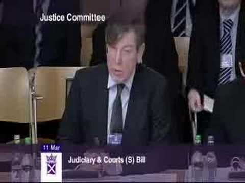 Lord President Lord Hamilton on Judicial training
