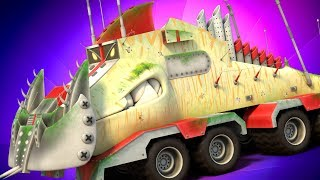 Yippii Truck Video For Kids | Carnage Crew | Children Vehicles | CryptoTruck Cartoon By Kids Channel