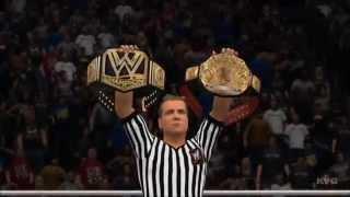 WWE 2K15 - Title Match | Brock Lesnar vs Kane Gameplay [HD]
