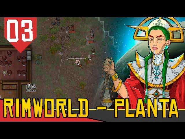 Legião de TRIBAIS STEALTH - Rimworld Ideology das Arovres #03 [Série Gameplay PT-BR]
