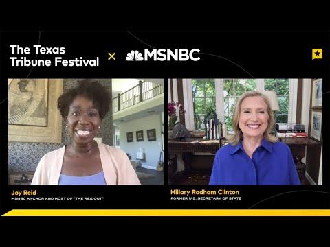 Texas Tribune Festival: One-on-One with Hillary Rodham Clinton | NBC News NOW