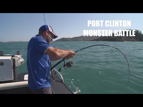 DEAN'S MONSTER PORT CLINTON BATTLE | ESCAPE FISHING WITH ET