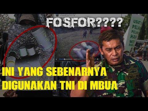 Ini yang Sebenarnya dipakai TNI Basmi OPM di Nduga, Papua, Apa Benar Fosfor??🤔🤔🤔