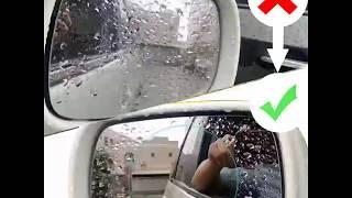 How to setup anti fog on side mirror