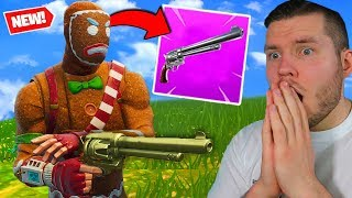 mit dem *SIX SHOOTER* in Fortnite gewinnen!
