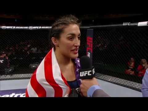 Fight Night Santiago: Tatiana Suarez Octagon Interview
