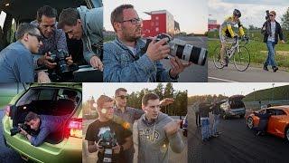 BMW X5 M и Range Rover Sport SVR — За кадром(Изначально мы хотели сделать видео более игровым и субъективным, а разницу двух автомобилей подчеркнуть..., 2015-12-11T14:40:13.000Z)