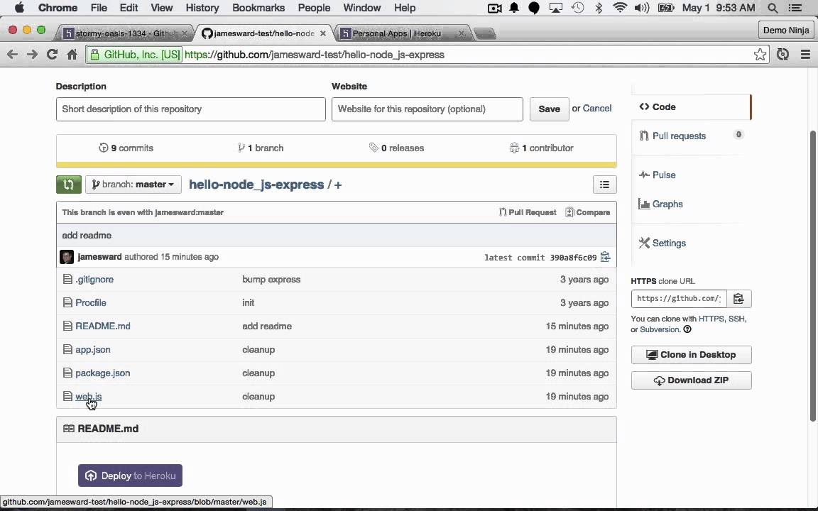 Heroku – James Ward