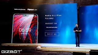 Nokia 6.1 Plus First Impressions : Gizbot