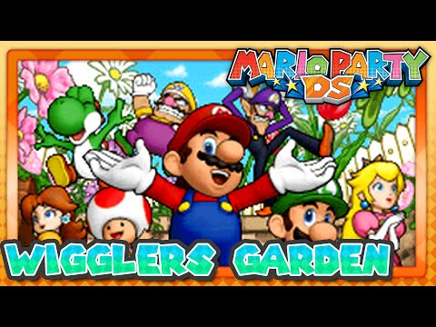 Mario Party DS - Wiggler's Garden (1/2) Multiplayer