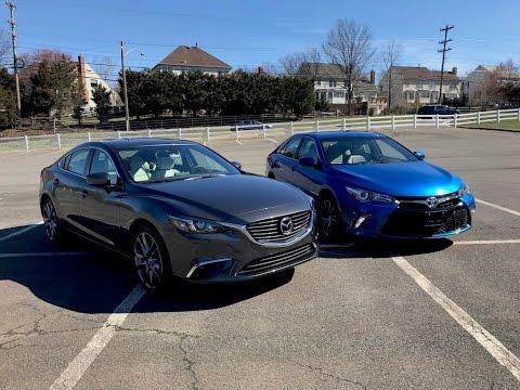 2017 Toyota Camry XSE VS. 2017 Mazda6 GT Redline Comparison
