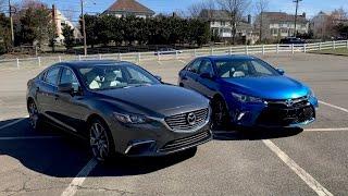 2017 Toyota Camry XSE VS. 2017 Mazda6 GT – Redline: Comparison