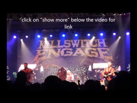 Killswitch Engage performed their Tiki party concert on June 22nd