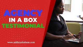 Agency In A Box Testimonial