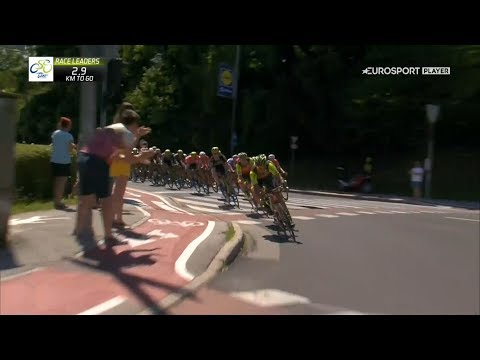 Tour of Slovenia–2017. Stage 4. June 18, 2017. Rogaška Slatina– Novo mesto.