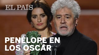 Almodóvar anuncia que Penélope Cruz entregará en los Oscar el premio a mejor película extranjera