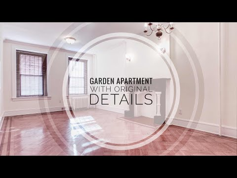 Garden Apartment in Central Park Slope! Video Tour NYC Brooklyn near Prospect Park