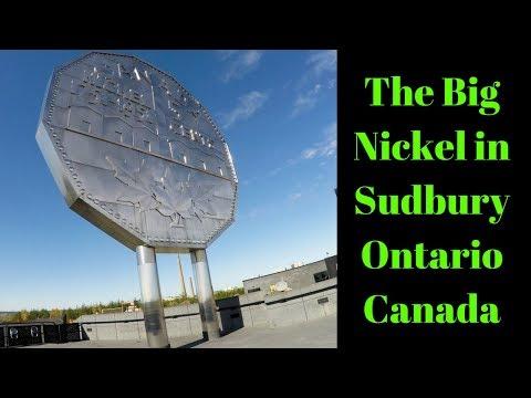 The Big Nickel In Sudbury Ontario Canada Rudi's NORTH AMERICAN ADVENTURES 10/19/17 Vlog#1226