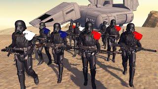 Death Trooper Spec Ops Raid on REBEL BASE! - Men of War: Star Wars Mod Battle Simulator