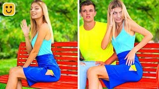 Girls Problems! Fashion Hacks and Cool Outfit DIY