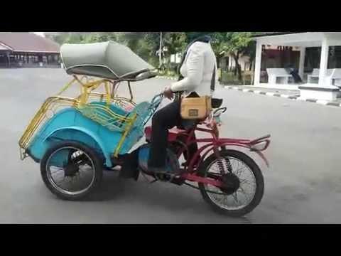 Pedicab (Becak): Indonesian Traditional Public Transport