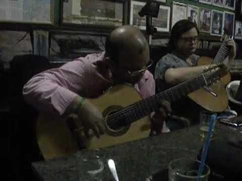 Grande encontro dos violonistas  Luiz Júnior e Yamandú Costa