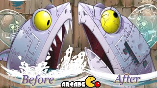 Plants Vs Zombies 2:Beach Zombot Sharktronic Sub(Time Travel Pirate World)