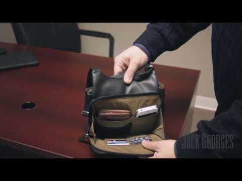 Product Overview: SOHO Slim Crossbody Messenger Bag #1831