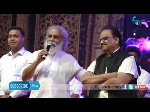 K. J. Yesudas shares old memories with SPB  at Abbas Cultural's Kalaivizha 2017 - Fulloncinema