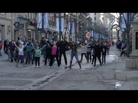 Mabuhay Flash Mob YYC 2014