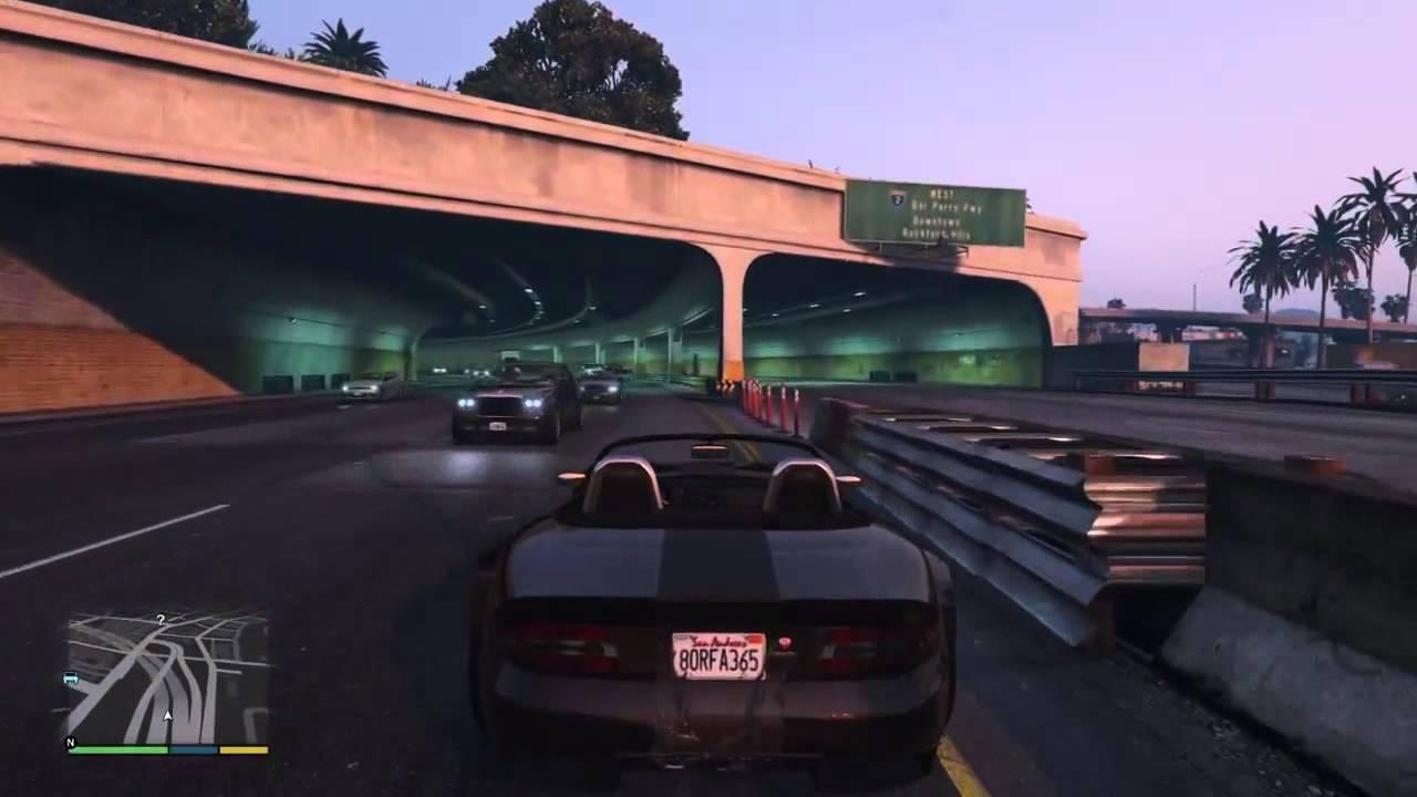 Grand Theft Auto V Traffic Density - YouTube