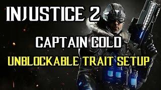 Injustice 2 - Captain Cold Jailing Unblockable Reset