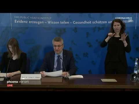 Coronavirus: RKI-Pressekonferenz Am 23.03.20
