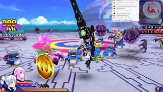 Hyperdimension Neptunia U: Action Unleashed ps vita стрим  прохождение часть 4