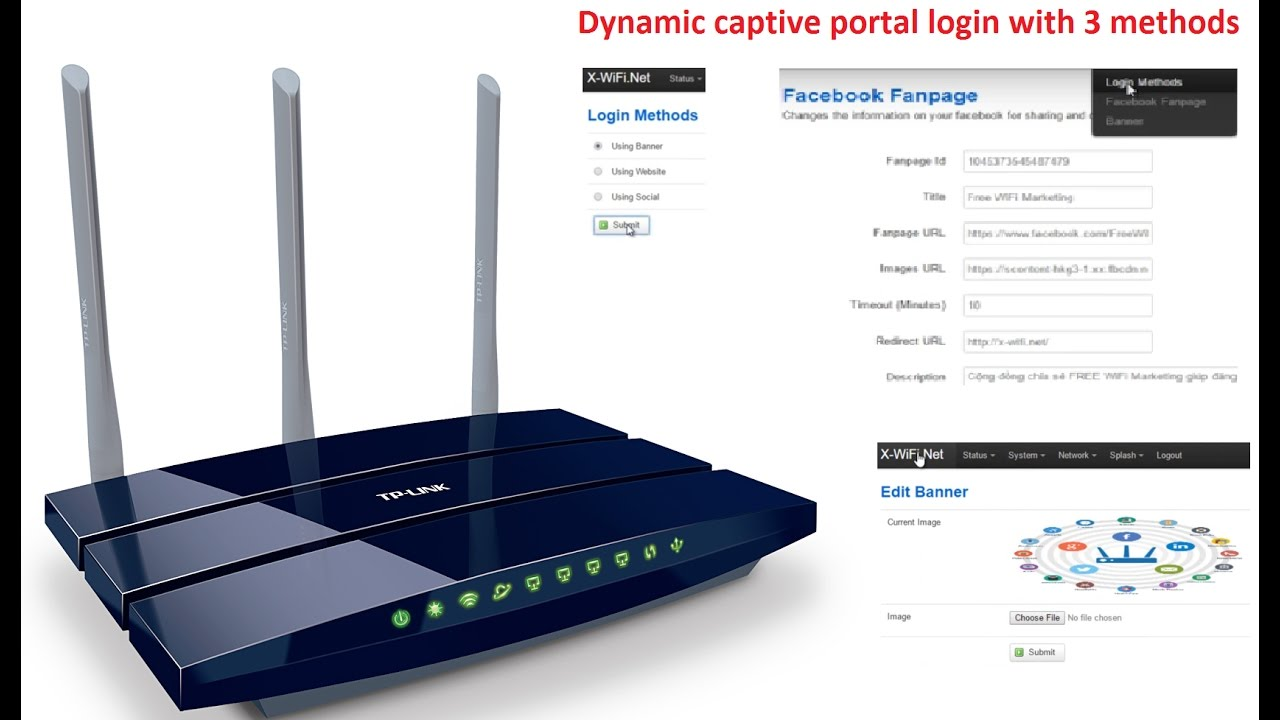 Access Wireless Banner Wire Center Power Op Amp With Current Limiting Circuit Diagram Tradeoficcom Configure X Wifi Marketing Login Method Website Redirect And Rh Youtube Com Graphic Engineering