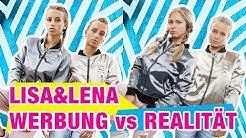 Werbung vs Realität - Lisa und Lena Merch | J1MO71