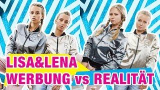 Werbung vs Realität - Lisa und Lena Merch   J1MO71