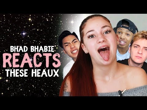 "Thumbnail: Danielle Bregoli reacts to BHAD BHABIE ""These Heaux"" roasts and reaction vids"