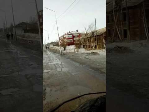 Саха Якутия г Олёкминск дороги олёкминска