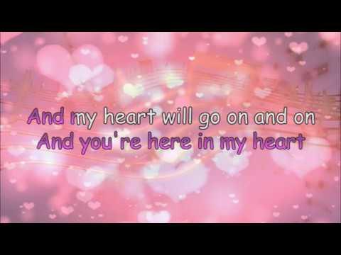 ❤ My heart will go on ❤  (Karaoke)  ❤ ❤ ❤