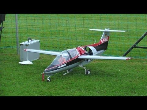 RC Heli Jet Fan-Trainer program flight 4.Mai 2013 Switzerland R/C Oldtimer meeting