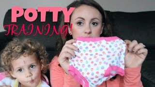 Potty Training - From Cloth Diapers To Undies