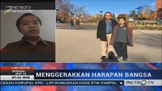 DIKKY..ANAK JENIUS ASAL INDONESIA, 12 TAHUN SUDAH JADI MAHASISWA DI CANADA.