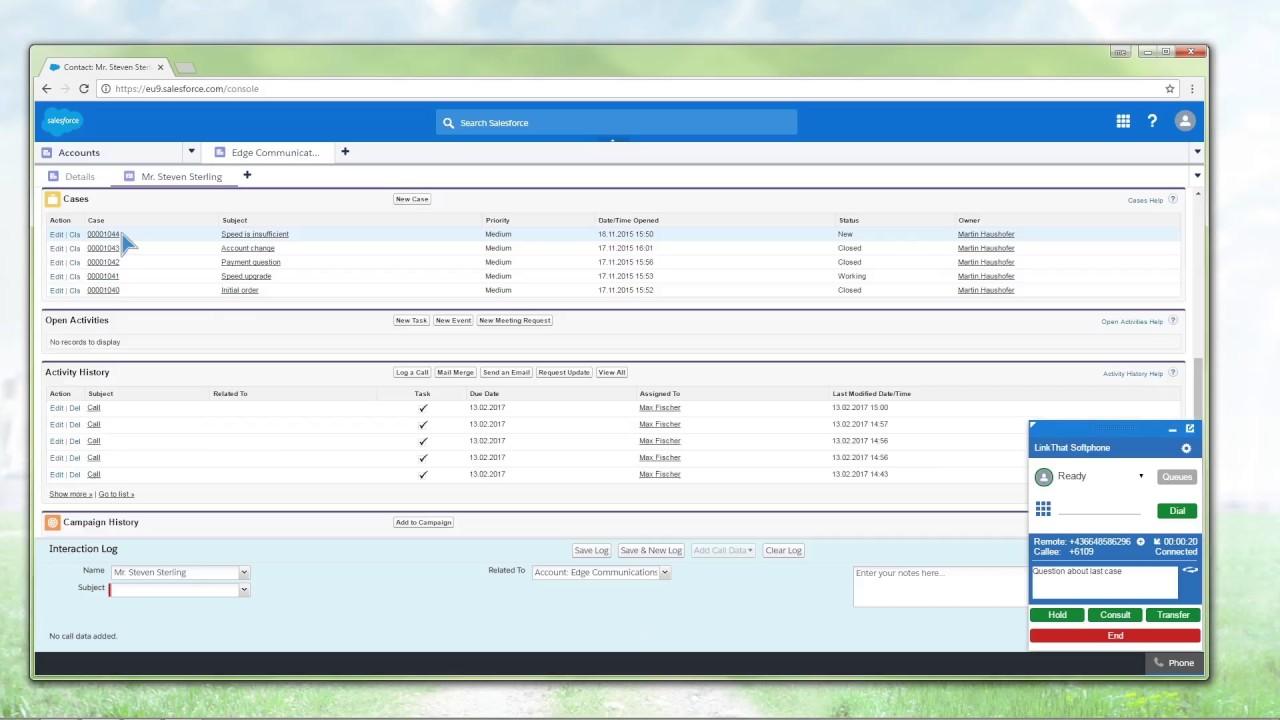 link|that Cube - CTI Solution for Skype | CISCO | Avaya | Alcatel | Unify &  more