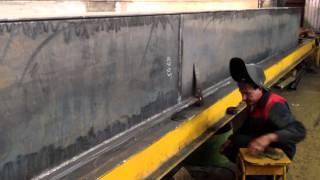 изготовление однобалочного крана(, 2013-07-09T05:55:35.000Z)