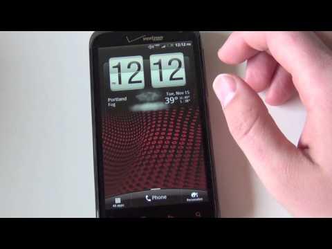 HTC Rezound Software Tour