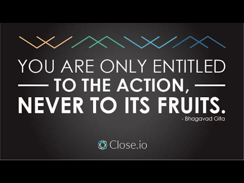 Sales Motivation Quote You Are Only Entitled To The Action Never