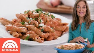 Healthy Penne Alla Vodka With Joy Bauer | Joy Full Eats | TODAY ORIGINALS