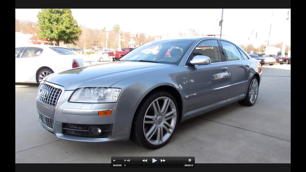 2007 audi s8 v10 start up exhaust and in depth tour youtube. Black Bedroom Furniture Sets. Home Design Ideas